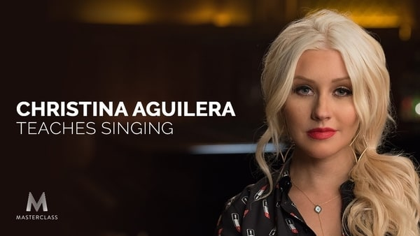 Christina Aguilera's Masterclass Vocal Class